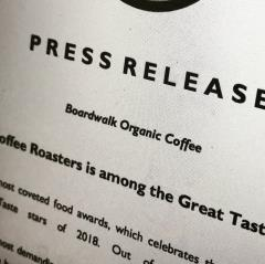 Award Winning Coffee - Great Taste