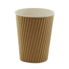 8oz Triple Wall Ripple cup 500 pack
